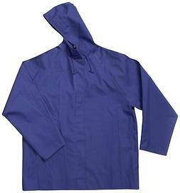 Dutch Harbor Gear Men's Quinault Rain Jacket, Sea Blue, 5X-L