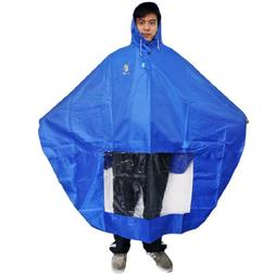 NAVA Blue Rain Cape Mobility Scooter Cover Rainproof Coating