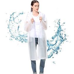 Outdoor Rain Coat Waterproof Rain Poncho Rain Cape Jacket Em