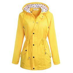 BBX Lephsnt Rain Jacket Waterproof Active Outdoor Hooded Wom
