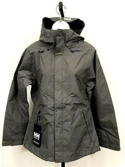 Helly Hansen Rain Jacket Women's Vancouver Large Hooded New