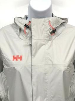 Helly Hansen Rain Jacket Womens Loke Large Travel Hiking Out
