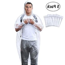 Aiduy Rain Poncho, Emergency Disposable Rain Ponchos with Dr