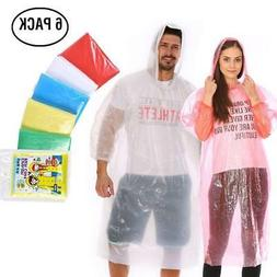 Rain Poncho for Men Women,  Emergency Disposable Rain Coat i