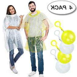 Rain Poncho,Disposable Emergency Raincoats Outdoor colorful
