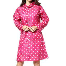 Haotfire Rain Poncho Raincoat, Dot Ultra Lite Rain Suit, Wat