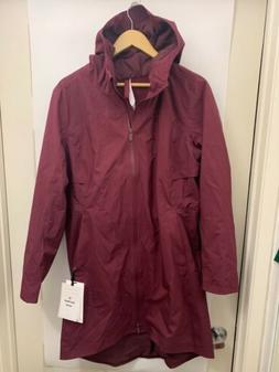 Lululemon Rain Rebel Jacket NWT Size 12 Coat DRBY Deep Ruby