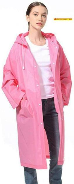 Lvdd Raincoat Durable Eva Rain Cape Unisex Men Women Rain Po