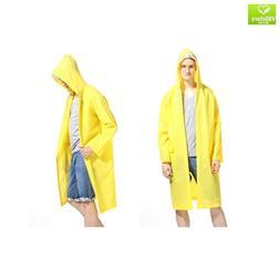 LvDD Raincoat Durable EVA Rain Cape Unisex Men Women Rain Po