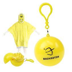 Xinnhee Raincoat Waterproof Travel Poncho Rainwear Cape for