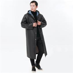 Raincoat Women Men <font><b>Long</b></font> Rainwear Hooded