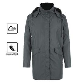 FISOUL Raincoats Men's Waterproof Lightweight Long Rain Jack