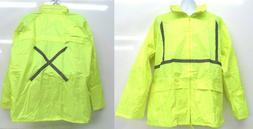 reflective tape rain coat raincoat jacket road