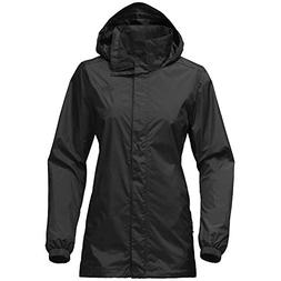 The North Face Women's Resolve Parka Rain Jacket,Black
