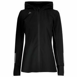 Adidas Response Jacket $85 NWT Womens Performance Hooded Rai