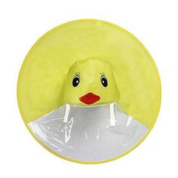 LiPing Reusable Raincoat for Kids Rain Lightweight Portable