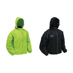 Frogg Toggs Road Toad Reflective Motorcycle Rain Jacket FT63