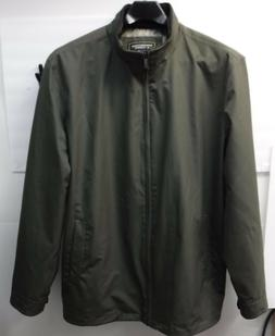 Roundtree & Yorke Outerwear Size XLT Green Water Proof Jacke
