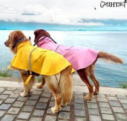 S-<font><b>4XL</b></font> large big dog raincoat Pet Apparel
