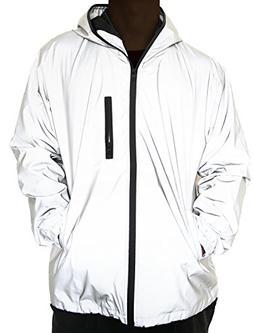 Fangfei® 3m Scotchlite Reflective Coat Hooded Windbreaker F