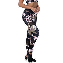 Sexy Yoga Pants Women's Printed Leggings Full-Length Regular