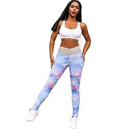 Sexy Yoga Pants,Yoga Pants for Women,Pink Yoga Pants,Dye Yog