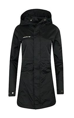 COLUMBIA WOMENS Shine Struck II Waterproof RAIN Mid Hooded J