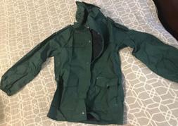 Columbia size Lg Nylon Rain Coat Jacket Waterproof Hunting W
