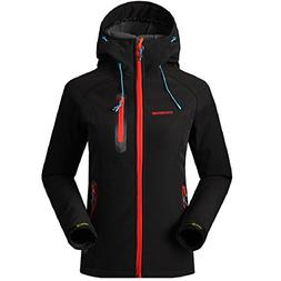 SAENSHING Womens Softshell Jacket Waterproof Outdoor Rain Co