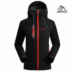 Softshell Jacket Women Brand Waterproof Rain Coat Outdoor Hi