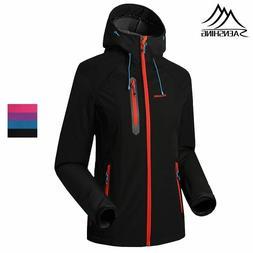 Softshell Jacket Women Waterproof Rain Coat Hiking Clothing