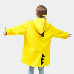 Stylish Kids Lightweight Rainwear Rain Jacket Dinosaur Rainc