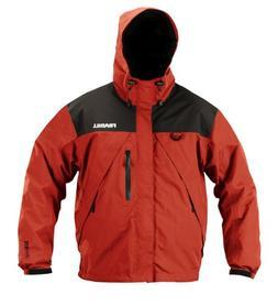 Frabill F2 Surge Rainsuit Jacket, Red, XX-Large