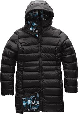 The North Face Women's Gotham Parka II, TNF Black Multi Glit