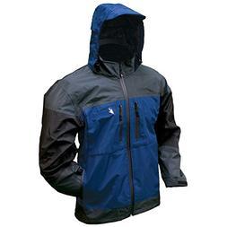 Frogg Toggs Toadz Anura Rain Jacket, Dust Blue/Slate/Black,