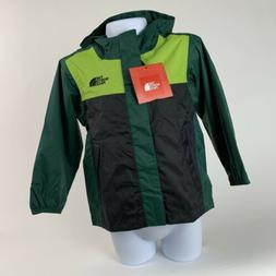 TODDLER GIRLS Size 4T The North Face Quinn Rain Shell Jacket Green//Teal