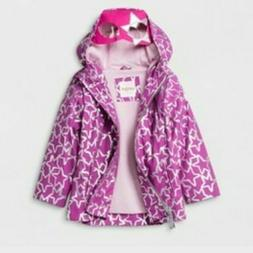 Toddler Girls' Rain Jacket Cat & Jack Purple 12M NWT