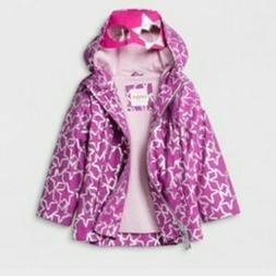 Toddler Girls' Rain Jacket Cat & Jack Purple 12M NWT