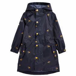 Joules Toddler Golightly Waterproof Packaway Rain Coat Umbre