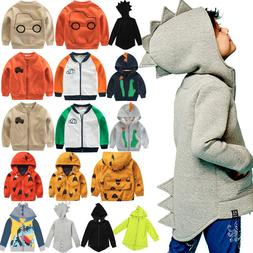 Toddler Kid Boy Girls Waterproof Windproof Hooded Rain Coat