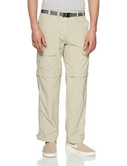 White Sierra Men's Trail 30-Inch Inseam Convertible Pant, Me