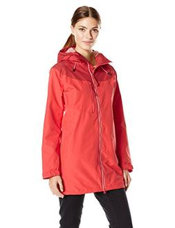 Helly Hansen Women's Tralee Rain Coat, Cayenne, X-Large