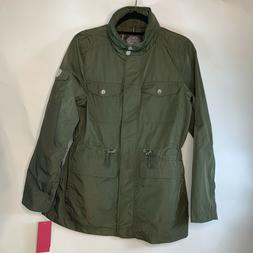 Vince Camuto Trench Coat Rain Jacket Water Resistant Anorak