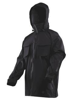 Tru-Spec H2O PROOF All Season Rain Parka, Black Medium./Reg