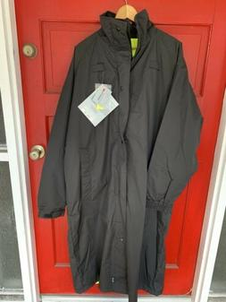 Gerber Outerwear Typhoon Reversible Rain Coat Black /Yellow