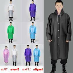UK Mens Womens <font><b>Long</b></font> Waterproof Jacket <f