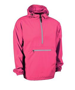Women's Ultra Light Pack-N-Go Pullover - Coral, X-Large