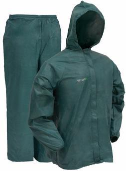 Frogg Toggs Ultra Lite 2 Rain Suit w/ Storage Bag GREEN UL12