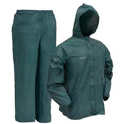 Frogg Toggs Ultra-Lite 2 Rain Suit - Small - Green
