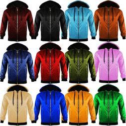 Unisex Mens Womens Light Weight Anorak Jacket Hooded Rain Co